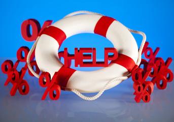 Crisis, Help in finance