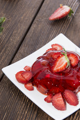 Homemade Strawberry Jello