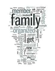 Organize your Family to Become Better Organized