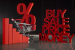 Buy, Price, Sale Concept