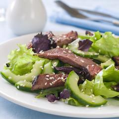 Ostrich (beef) salad