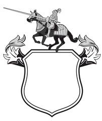 Ritter Tunier Wappen