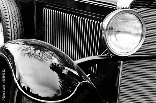 Old American car © Denis Tabler