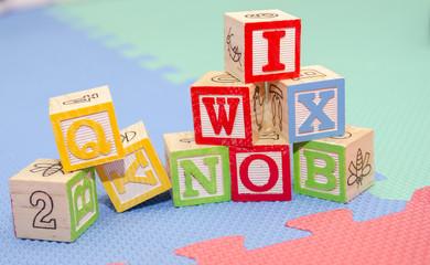 letras madera