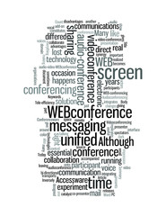 a unified conferencing solution audio video WEBconference