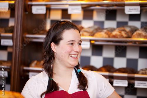 auszubildende in der bäckerei