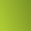 Abstract green background with hexagon shapes