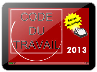 Tablette : Code du travail 2013 paysage