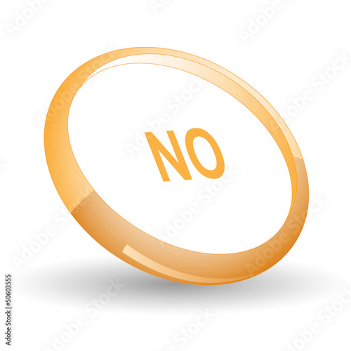 No. Vector icon.