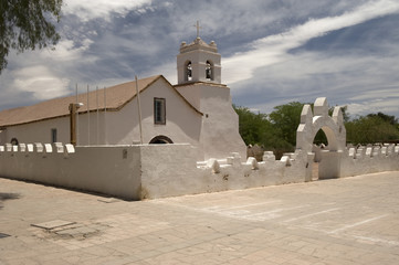San Pedro de Atacama church, Chile
