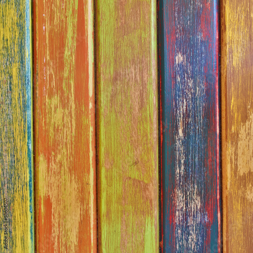 colorful wood stripes