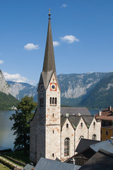 Evangelical church in Hallstatt