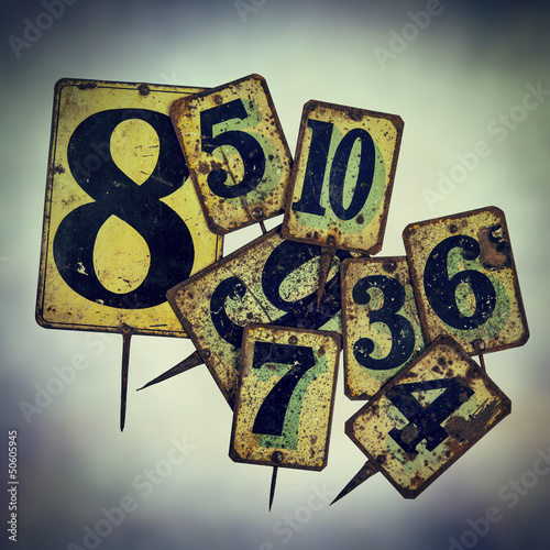 vintage metal price tags