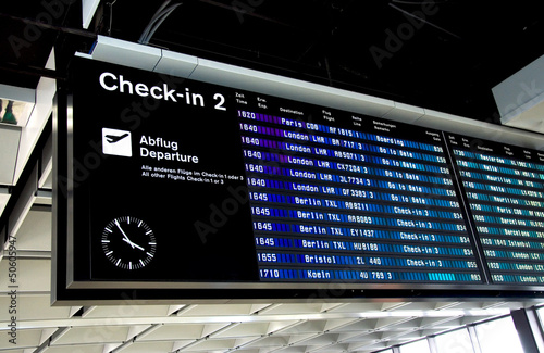 Leinwandbild Motiv Flughafen