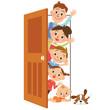 ドアと家族