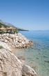 idyllischer Platz an der Seepromenade von Brela