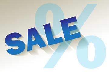 Sale blau türkis Prozent