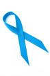 Blue prostate cancer ribbon