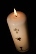 Candle for christianity