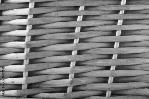 Black and White Basket Weave