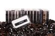 Aligned audio cassettes