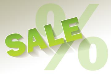 Sale grün Limette BIO Öko Prozent