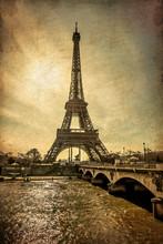 Torre Eiffel Stile millésime