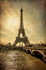 Torre Eiffel Stile vintage