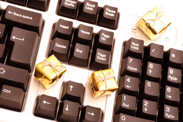 Gifts and keyboard
