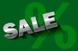 Sale grün Silber BIO Öko Prozent