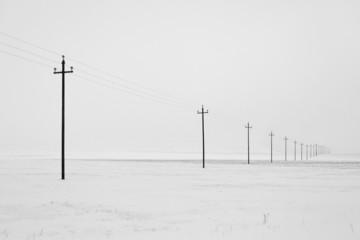 linea elettrica castelluccio