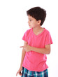 Child pointing