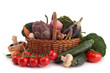 collection of raw vegetables
