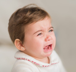 Portrait Of Baby Boy Crying
