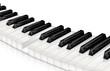 Klaviertastatur freigestellt