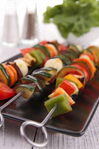 vegetables kebab