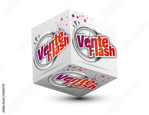 cube 3d vente flash