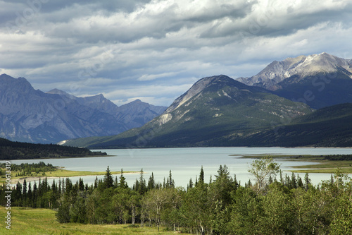 Bergsee in Kanada