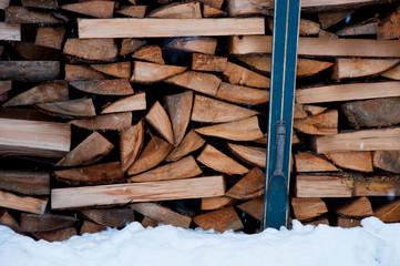 wood ski
