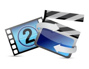 movie cinema concept