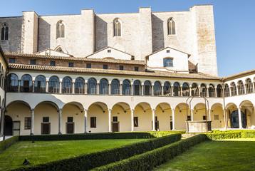 Perugia - Gothic church, cloister