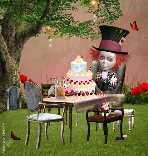 Wonderland series - The mad hatter