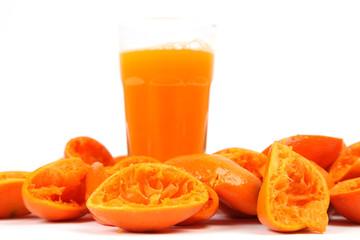 Frisch gepresster Mandarinensaft