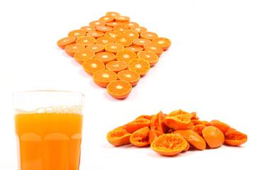 Zubereitung eines Orangensafts