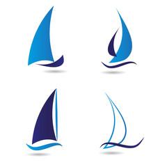 Logotipo Barco de Vela