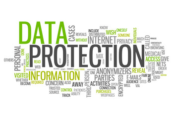 "Word Cloud ""Data Protection"""