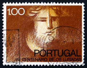 Postage stamp Portugal 1972 Luis Camoens