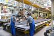 canvas print picture - industrielle Fertigung // industrial production