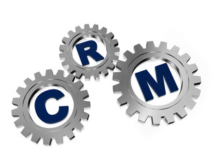 CRM in silver grey gears