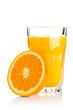 canvas print picture - Orange juice